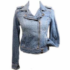 NEW Blue Denim Jean jacket